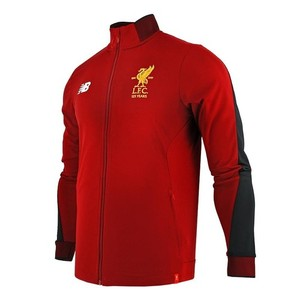 [해외][Order] 17-18 Liverpool Elite Training Presentation Jacket- Red Pepper