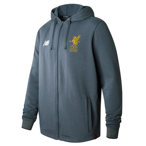 [해외][Order] 17-18 Liverpool Elite Travel Hoody Jacket- Thunder Grey