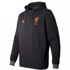 [해외][Order] 17-18 Liverpool Elite Travel Hoody Jacket- Black