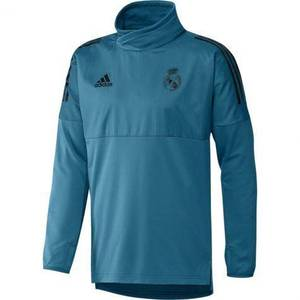 [해외][Order] 17-18 Real Madrid (RCM) EU(UCL/Champions League) Hybrid Top - Vivid Teal/Black