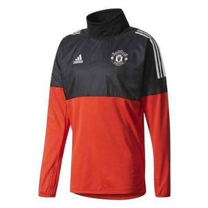 [해외][Order] 17-18 Manchester United UCL(Champions League) Hybrid Top - Red/Black