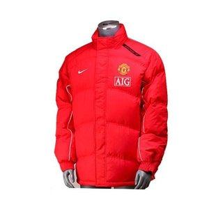 07-08 Manchester United Down Filled Jacket - Red