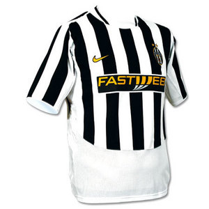 03-04 Juventus Home Boys