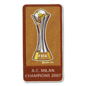 2008 Club WorldCup Champions Patch(For 08/09 Ac Millan)