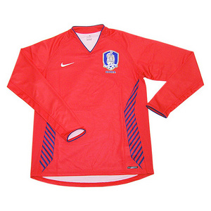 06-07 Korea Home L/S Player Issued Jersey