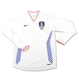 06-07 Korea Away L/S Player Issued Jersey