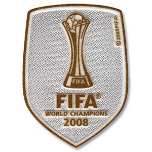 2008 FIFA World Club Champions Patch(For 08/09 09/10 Manchester United)