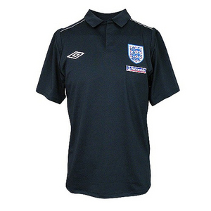 England Home 2009/11 T-Shirt - Galaxy/Iron