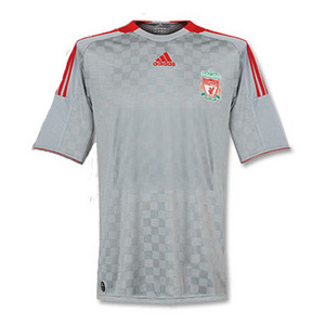 08-09 Liverpool Away Authetic Player Jersey (FORMOTION / No Sponsor)
