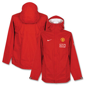 09-10 Manchester United Rain Jacket (Red)