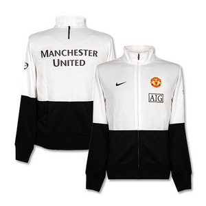 09-10 Manchester United LineUp Jacket(White)
