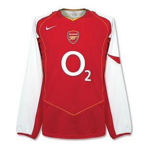 [Used]04-05 Arsenal Home L/S Size:S