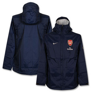 09-10 Arsenal Boys Rain Jacket- Boys