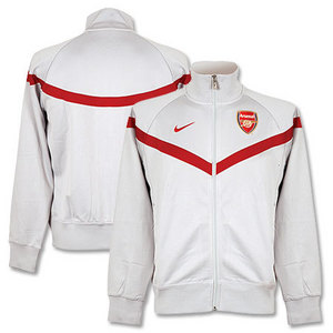 09-10 Arsenal Eugene Track Jacket
