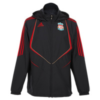 [Order]09-10 Liverpool Player Issue Training All Weather Jacket - Phantom/Light Scarlet/Player Issue