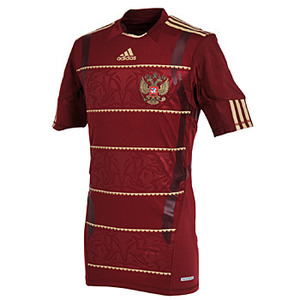 10-11 Russia(RFU) Home Authentic Jersey(Tech-Fit / Player Issue)