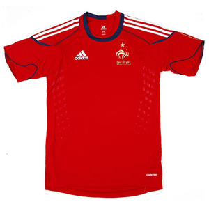 09-11 France(FFF) Traning Shirt(Red)
