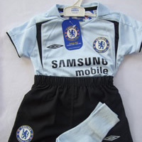 05-06 Chelsea Centenary Away Infant Kit