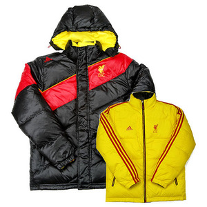 10-11 Liverpool UCL Reversible Down Jacket