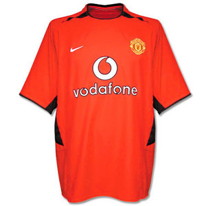 02-04 Manchester United Home S/S Code-7 Player Issue