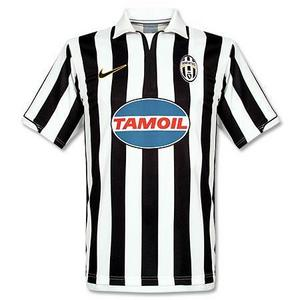 06-07 Juventus Home + 10.DEL PIERO + Serie B Patch (Size:M)