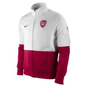 09-10 Arsenal Lineup Jacket