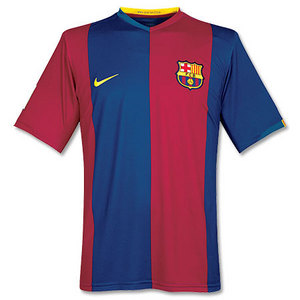 06-07 Barcelona Home + 22 SAVIOLA + UNICEF Spon + LFP Player + TV3 (Size:M)