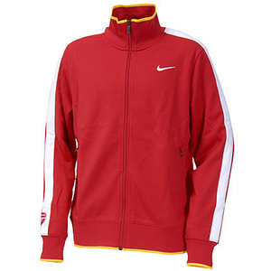 10-11 Arsenal N98 Track Top (Red)