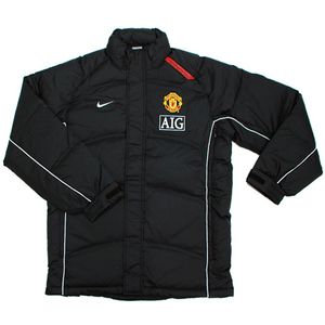 07-08 manchester United Down Jacket(Black)