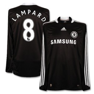08-09 Chelsea Authentic Away L/S (Formotion/Player issue)