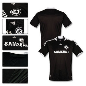 08-09 Chelsea Champions League Authentic Away (Formotion/Player issue)