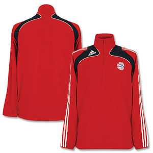 08-09 Bayern Munich Fleece harf-ZipTraining Top