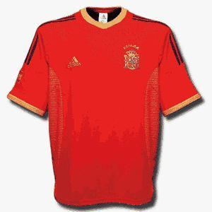 02-03 Spain Home + 9 MORIENTES + W/C Patch (Size:M)