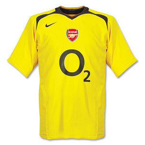 05-06 Arsenal Away + 7 ROSICKY (Size:M)