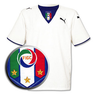 05-06 Italy Away(3 star) + 7 DEL PIERO (Size:M)