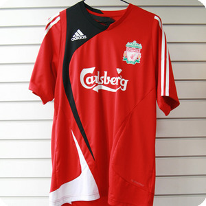 07-08 Liverpool Training Jersey - FORMOTION / Authentic Player Issue (Red)