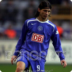 05-07 Hertha Berlin BSC Away L/S Code-7 Player Issue