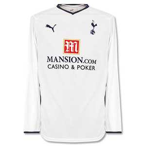 08-09 Tottenham Hotspur Home L/S (Authentic)