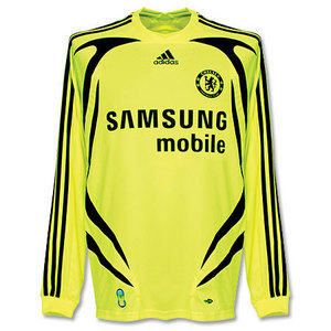 07-08 Chelsea Away L/S + 13 BALLACK + FAPL Patch (Size:M)