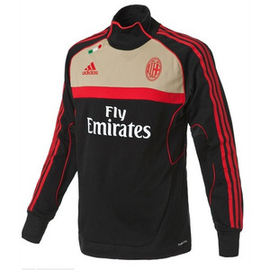 11-12 AC Milan Training Top(Black)