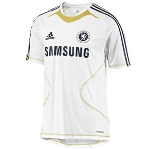 10-11 Chelsea Training Top - White (TechFit / Player Issue)