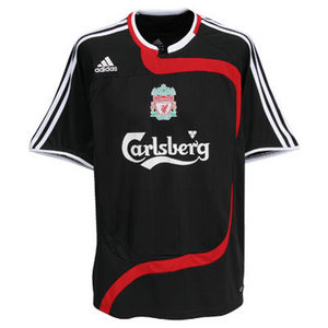 [중고][Used] 07-08 Liverpool UCL(Champions League) Away(3rd) + 8 GERRARD