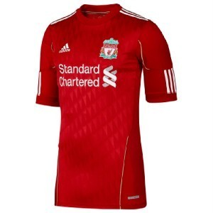 11-12 Liverpool(LFC) Home Tech-Fit Authentic Jersey (Tech-Fit  / Player Issue)