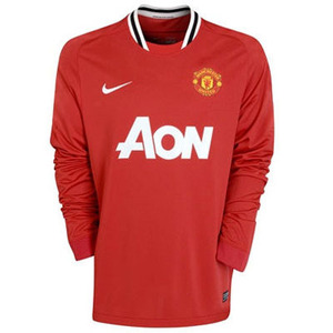11-12 Manchester United Home L/S