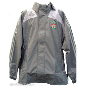 08-09 Liverpool All Weather Jacket (Gray/Authentic Player Issue)