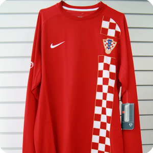 06-08 Croatia L/S - Authetic / Player Issue (Red)