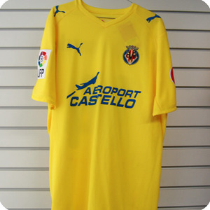 08-09 Villareal Home + 7 PIRES + LFP + CANAL (Size:XL)