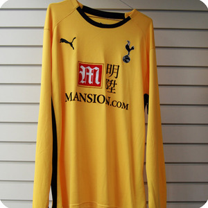 08-09 Tottenham Hotspur GK L/S  (Authentic / Player Issue)