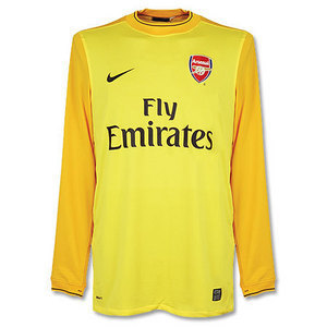 09-10 Arsenal Goalie Jersey L/S