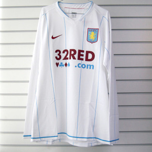 07-08 Aston Villa Away  L/S (Authentic /Player Issue)